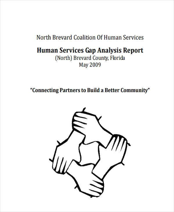 service gap analysis report