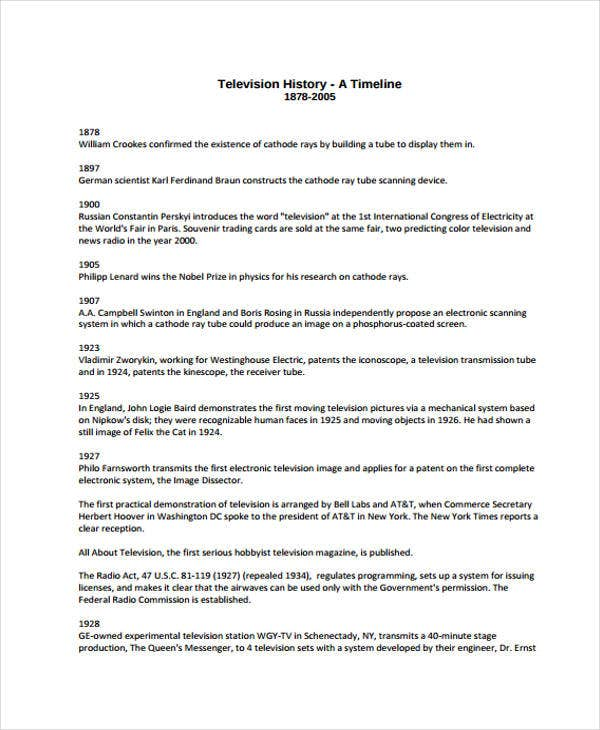 legal chronology template - simple timeline templates 10 free word pdf format