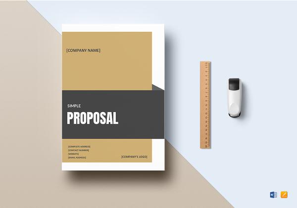 simple-proposal-templat