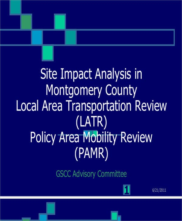 site impact analysis1