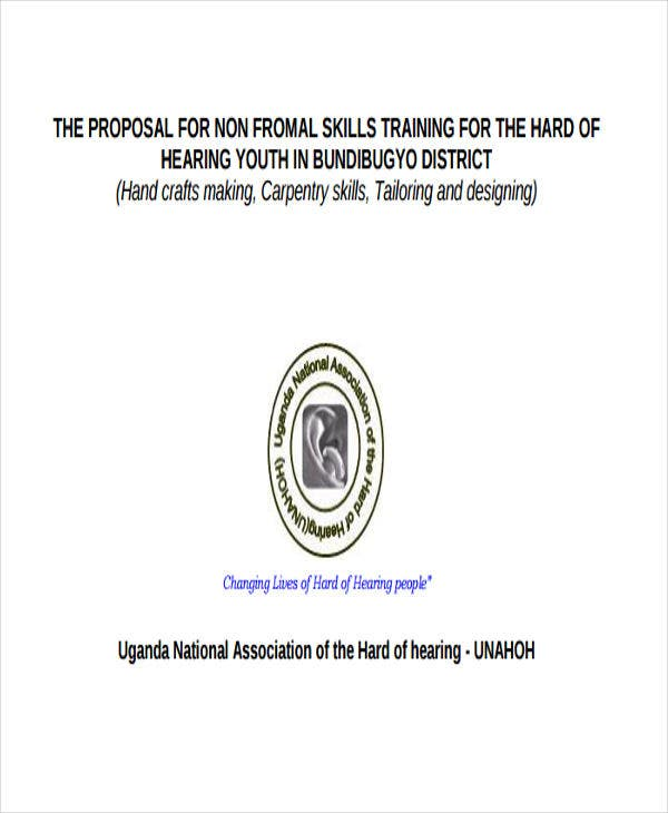 skill training project