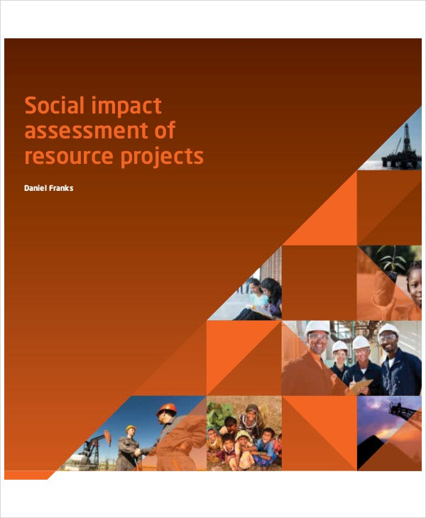 social impact assessment of resource project