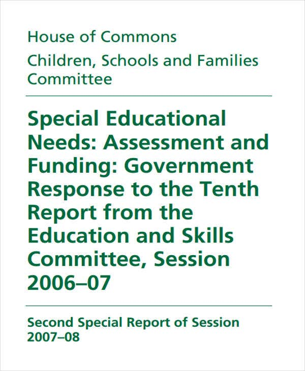 special educational needs assessment1