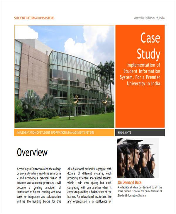 student information system case study