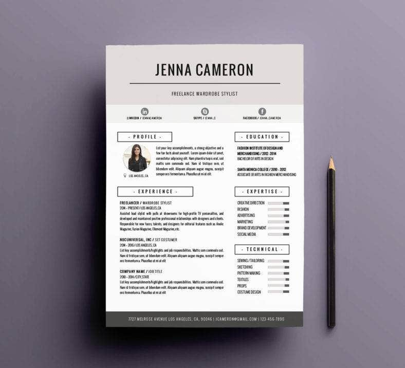 stylish-creative-resume