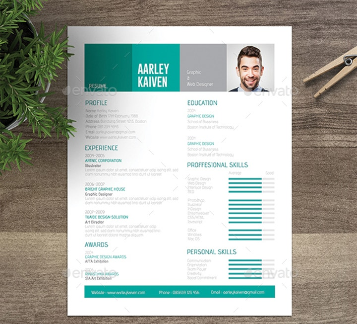 stylish-nontraditional-resume