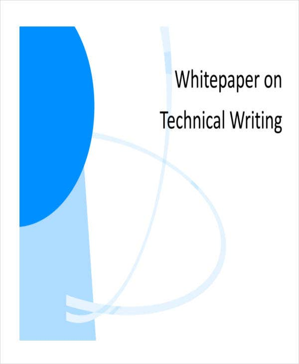 technical writing white paper