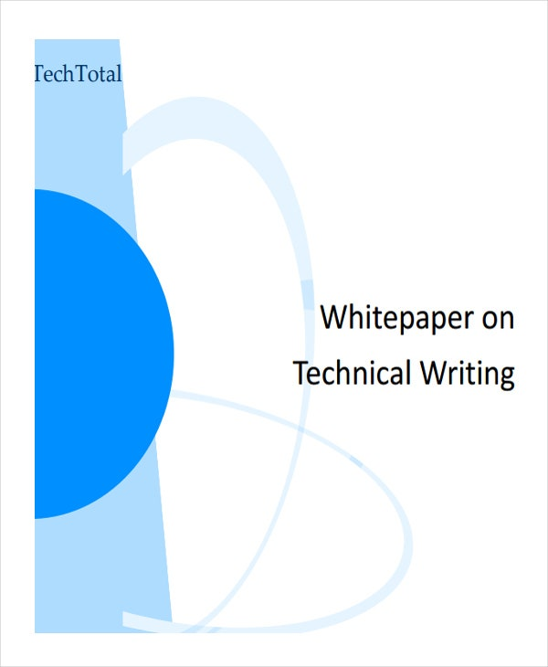 technical writing white paper1