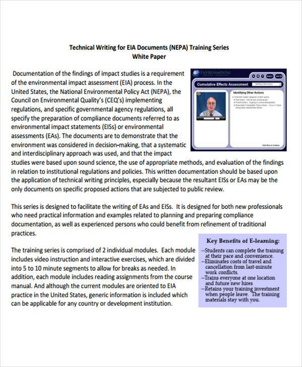 technical writing white paper2