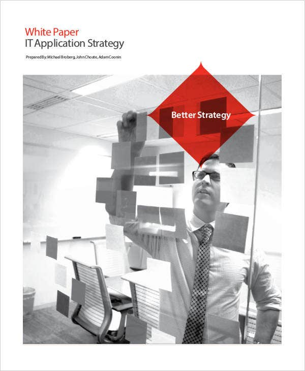technology strategy white paper