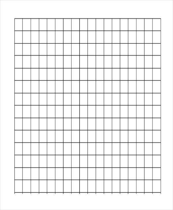 thick lined grid paper