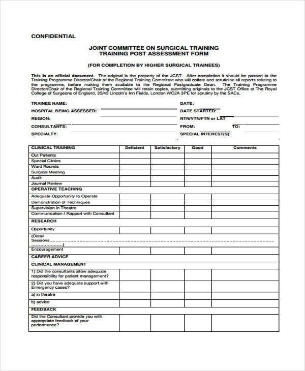 Seminar Evaluation Form Web Form Templates Customize Use Now