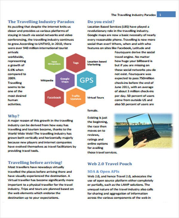 travel industry white paper