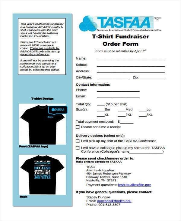 Tshirt-Order-for-Fundraiser T Shirt Order Form Template Word on t shirt order form in word, order form templates for word, contest entry form template word, t-shirt template microsoft word, t shirt order form printable, t-shirt template for word,