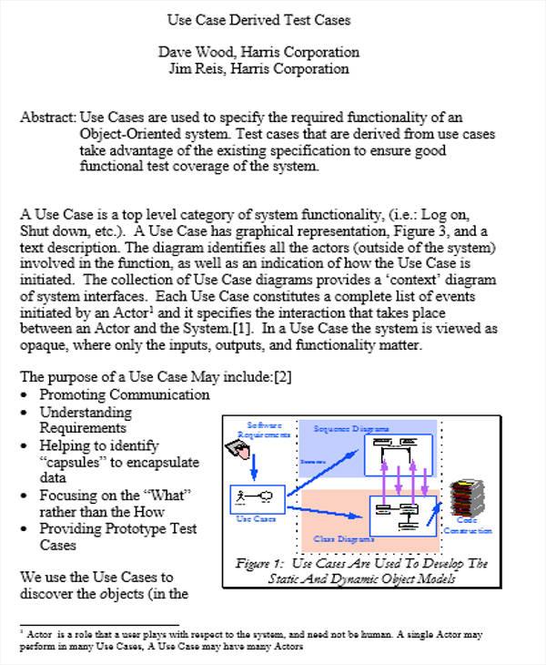 use case test scenario