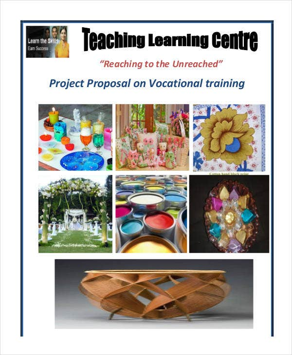 vocational training project proposal