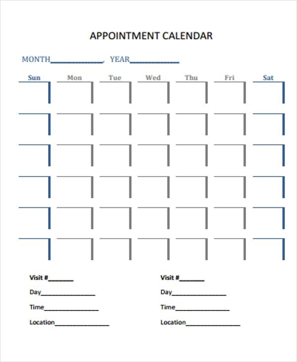 35 Free Calendar Templates Free Premium Templates