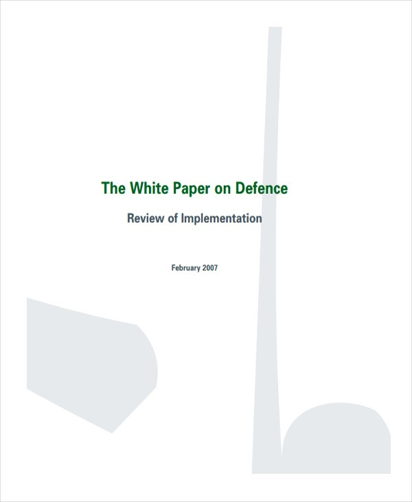 white paper on defence force