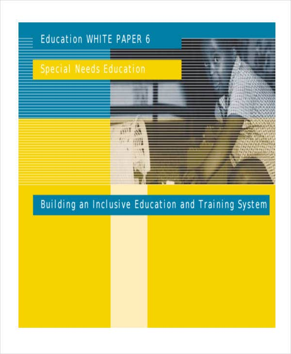 white paper on inclusive education1
