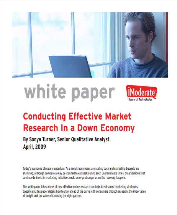white paper on marketing research