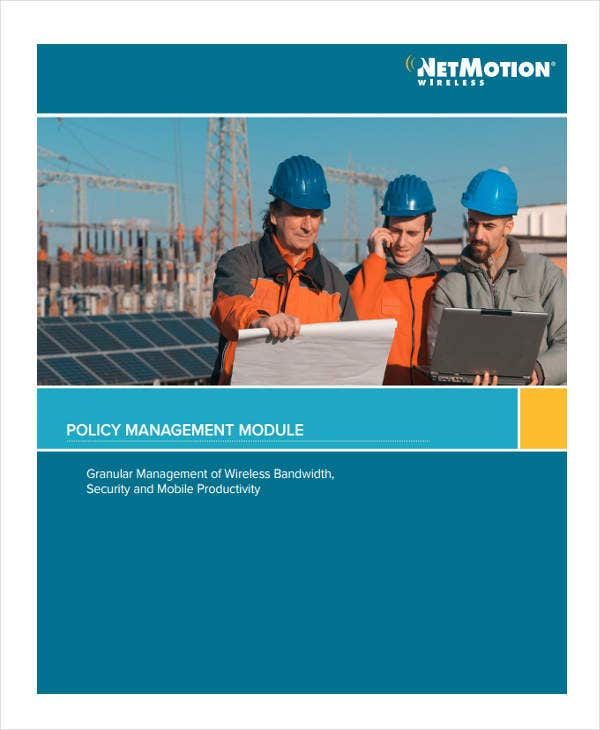 white paper on policy management1