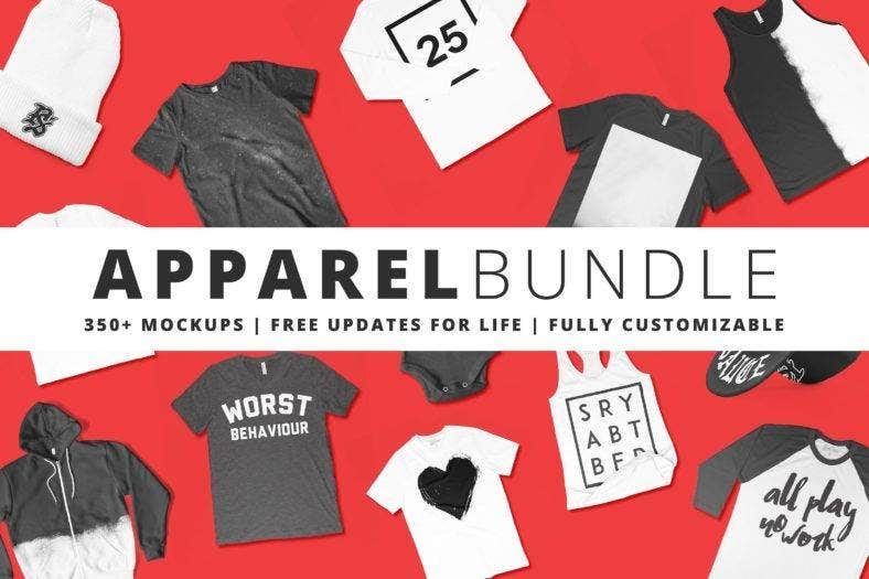 Apparel Mockup Bundle