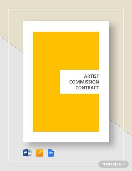 artist commission