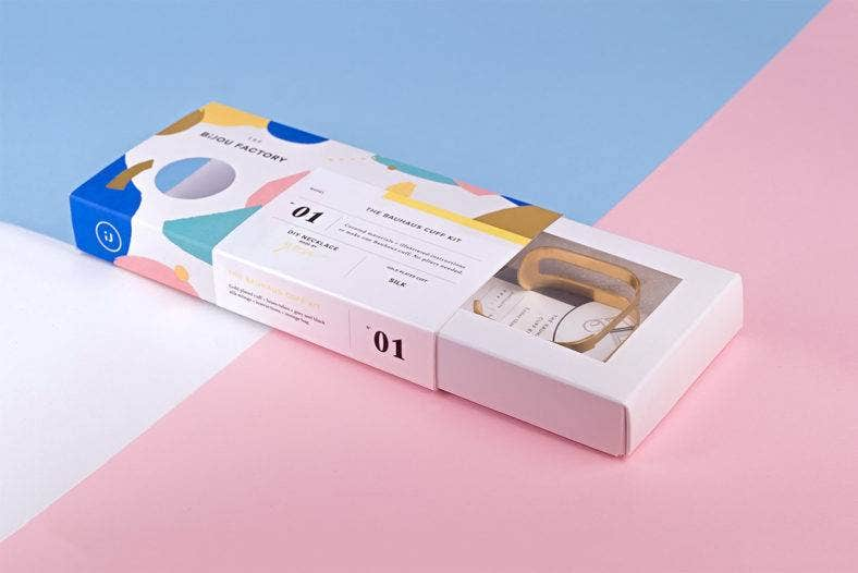 The Bijou Factory Packaging Design