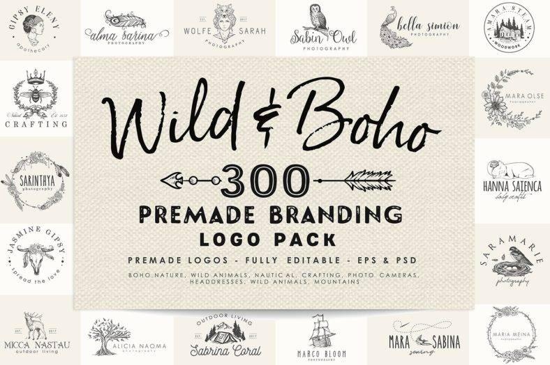 Bohemian Logo Designs