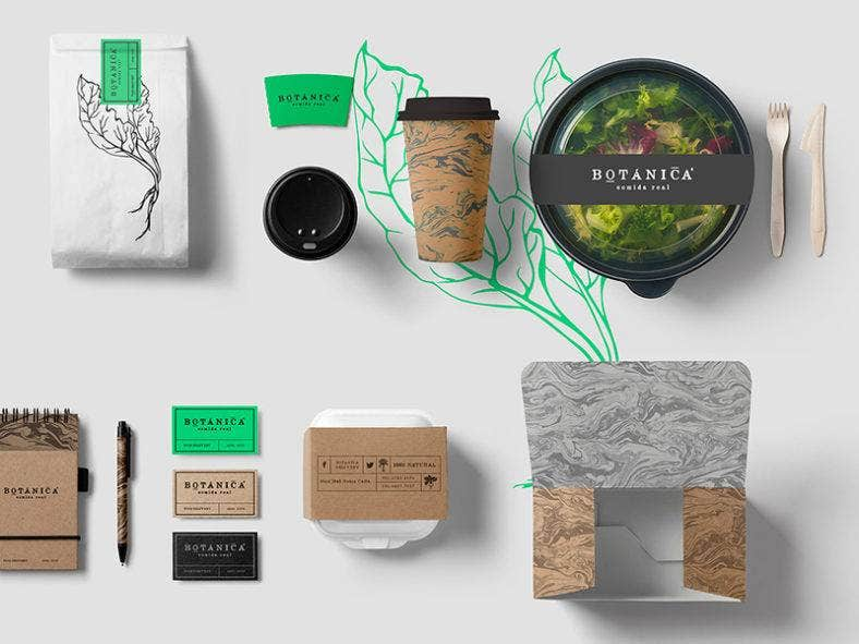 Food Packaging Design Templates Free