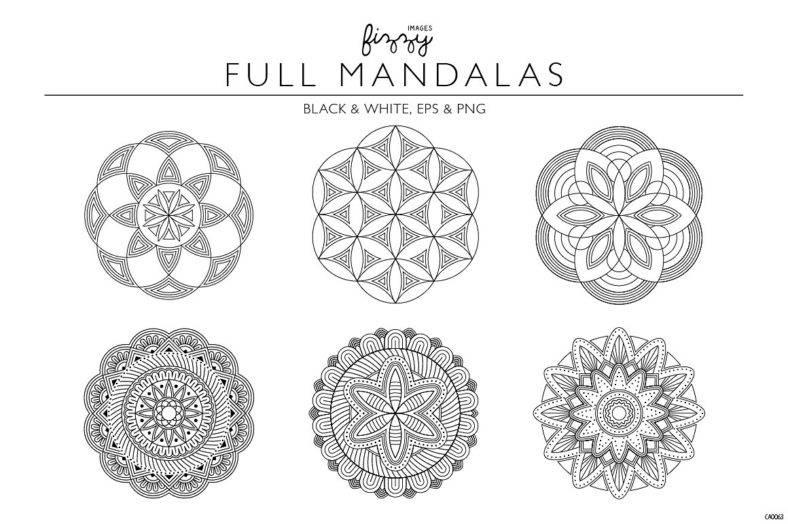 Mandala Geometry Set