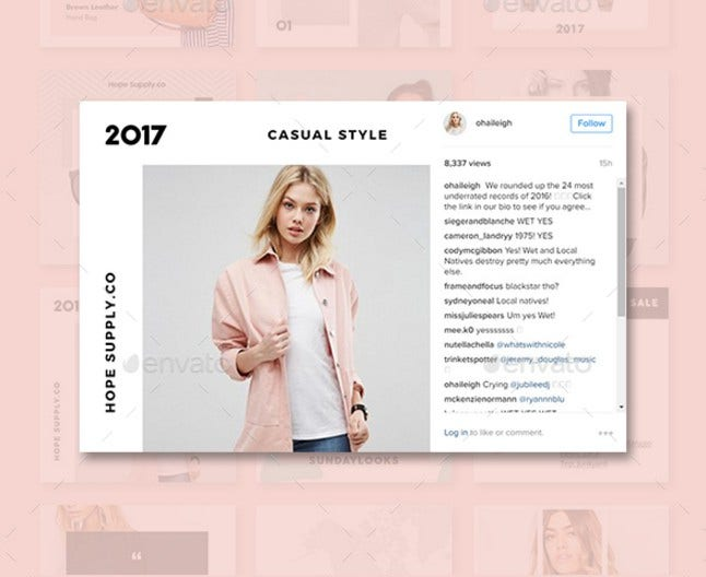 Casual Social Media Pack