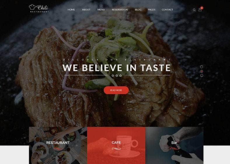 24 Best Wordpress Themes For Pubs Bars Cafes And