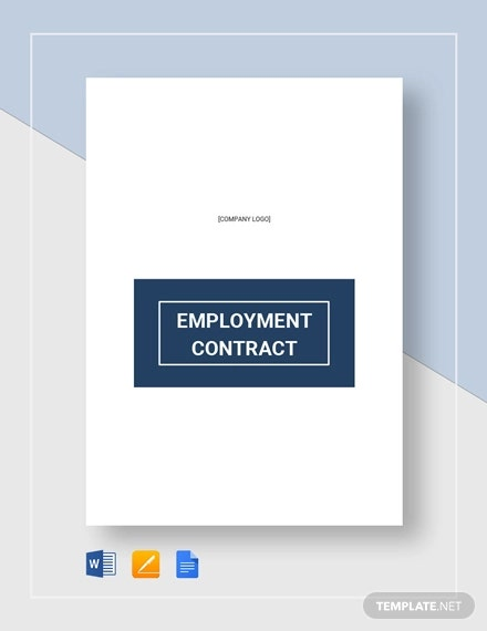 Restaurant Employee Contract Template
