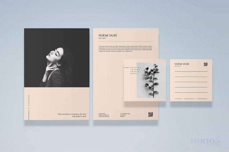 Fashion Stationery Template