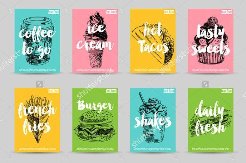 Food Flyer Illustrations