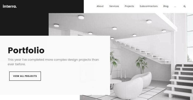 10 Cool Website Themes For Architecture And Interior Design Free Premium Templates