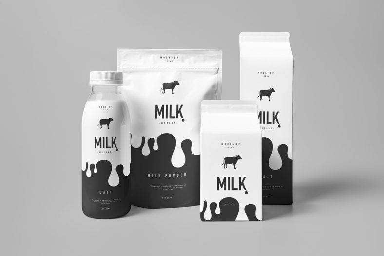 Milk Product Templates