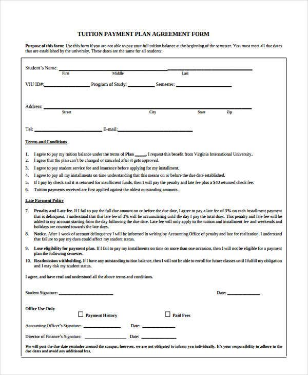 Agreement Forms In Pdf  Free  Premium Templates