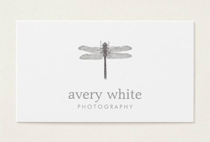 Minimalist Photography Business Card