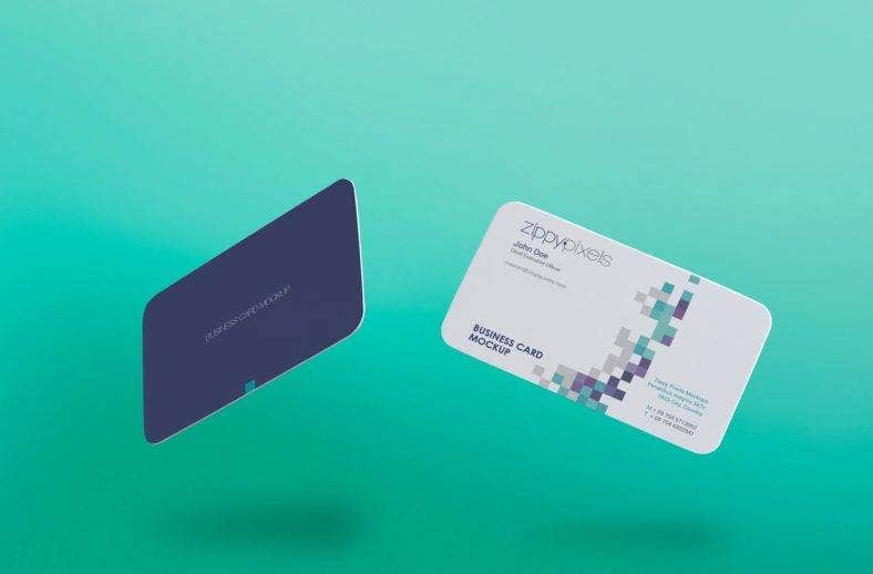 15 business card templates free premium templates for Business card pixels