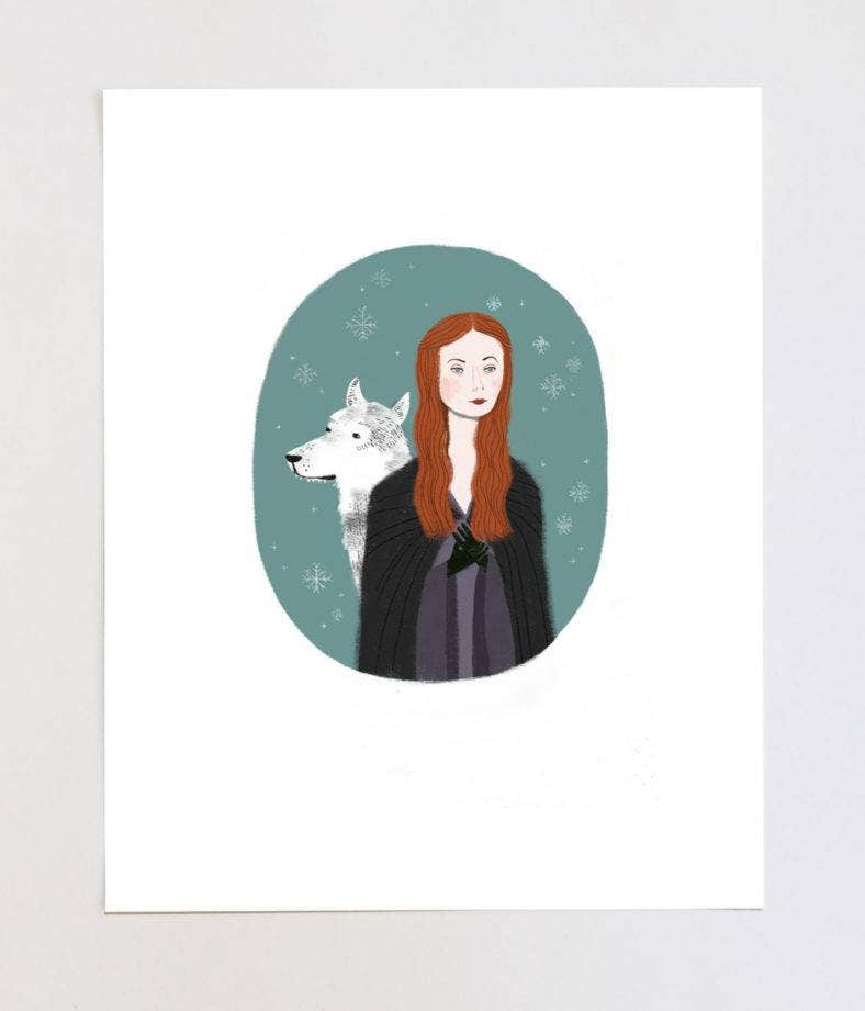 Sansa Stark Game of Thrones Portrait