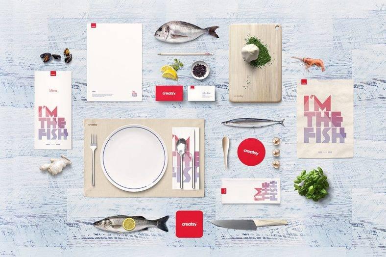 Seafood Restaurant Branding Identity