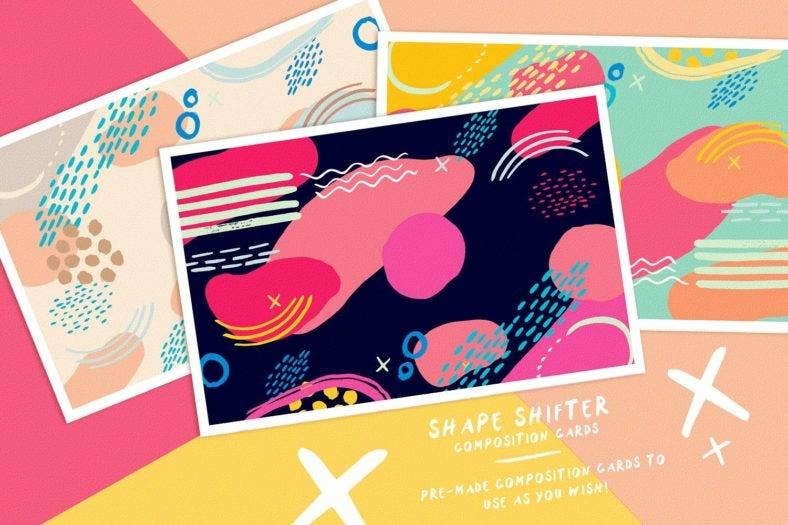 Shape Shifter Abstract Illustrations