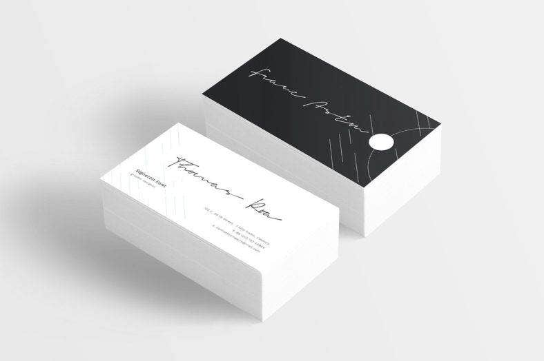 Signeton Corporate Card Font