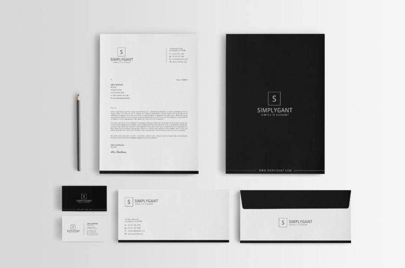 6 Business Stationery Designs Free Premium Templates