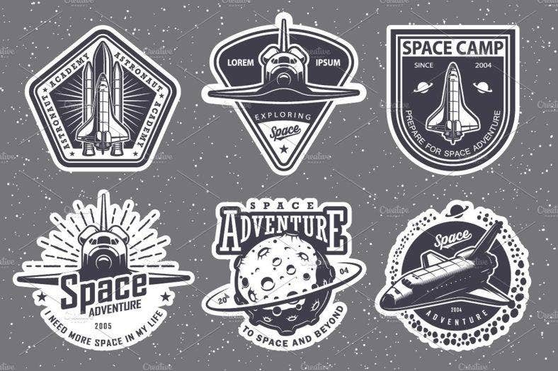 Super Space Logo Designs