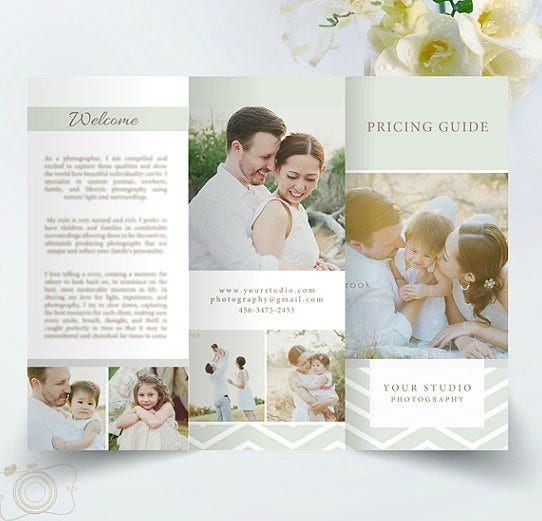 Wedding Trifold Template