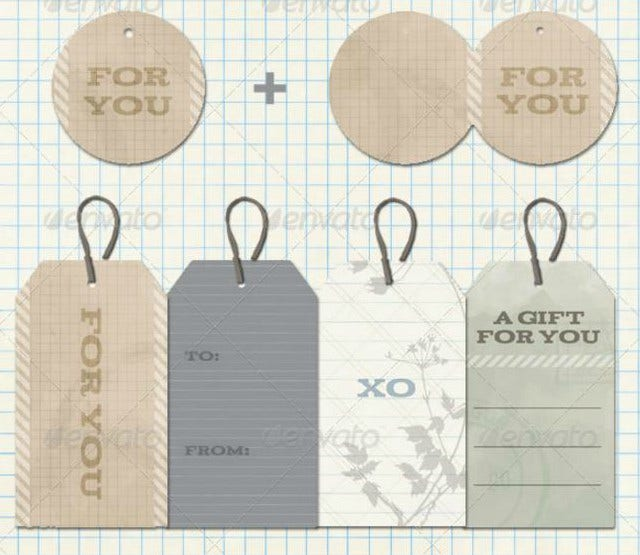 Father's Day Vintage Tags