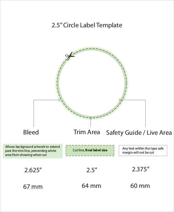 2 inch circle label template - 11 circle template free premium templates